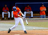 "(Casey Brooke Lawson / Gator Country) Teddy Foster swings during the University of Florida ""Meet the Team"" event for UF baseball on Saturday, February 14, 2009."