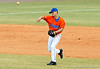 "(Casey Brooke Lawson / Gator Country) Jandy Rosabal throws the ball during the University of Florida ""Meet the Team"" event for UF baseball on Saturday, February 14, 2009."