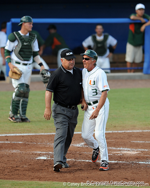 The University of Florida Gators defeated the Miami Hurricanes 16-5 in the NCAA Regionals in Gainesville, Fla. on Sunday, May 31, 2009. / Gator Country photo by Casey Brooke Lawson