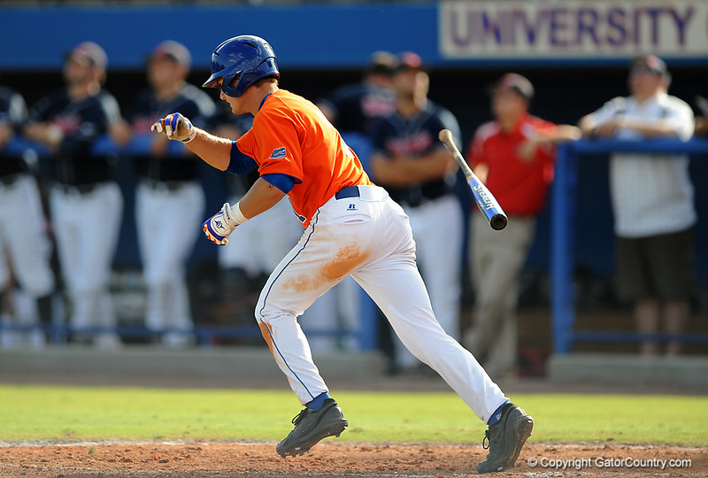 The University of Florida baseball team wins 6-4 over Ole Miss on Saturday, April 18, 2009 in Gainesville, Fla. / Gator Country photo by Casey Brooke Lawson