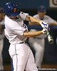 photo by Tim Casey<br /> <br /> Florida sophomore Josh Adams bats during the Gators' 10-5 win against the Duquesne Dukes on Friday, March 6, 2009 at McKethan Stadium in Gainesville, Fla.