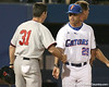 photo by Tim Casey<br /> <br /> during the Gators' 10-5 win against the Duquesne Dukes on Friday, March 6, 2009 at McKethan Stadium in Gainesville, Fla.
