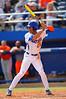 Florida Gators outfielder Buddy Reed steps up to bat in the fifth inning.  Florida Gators vs Miami Hurricanes.  February 22nd, 2015. Gator Country photo by David Bowie.
