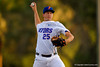 Florida Gators pitcher Eric Hanhold pitching during the first inning.  Florida Gators Baseball vs Florida State Seminoles.  March 17th, 2016. Gator Country photo by David Bowie.