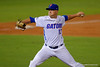 Florida Gators pitcher Kirby Snead throwing in the fifth inning.  Florida Gators Baseball vs Florida State Seminoles.  March 17th, 2016. Gator Country photo by David Bowie.