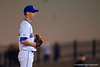 Florida Gators pitcher Tyler Deel looks to home plate for the pitch call.   Florida Gators vs Rhode Island Rays.  February 13th, 2015. Gator Country photo by David Bowie.