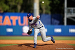Florida Gators pitcher A.J. Puk working in the third inning during Game 2 of the Super Regionals as the Florida Gators defeat the Florida State Seminoles 11-4.  June 6th, 2015. Gator Country photo by David Bowie.