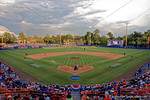 An overview of the McKethan Stadium in the 8th inning during Game 2 of the Super Regionals as the Florida Gators defeat the Florida State Seminoles 11-4.  June 6th, 2015. Gator Country photo by David Bowie.