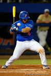 Florida Gators catcher Mike Rivera ducks just in time to avoid being hit by a pitch, as the No. 1 overall seed Florida Gators conclude their opening sweep of the Gainesville Regional by beating Georgia Tech 10-1 in the final at McKethan Stadium.  June 5th, 2016. Gator Country photo by David Bowie.