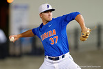 Florida Gators pitcher Shaun Anderson comes in close the game, as the No. 1 overall seed Florida Gators conclude their opening sweep of the Gainesville Regional by beating Georgia Tech 10-1 in the final at McKethan Stadium.  June 5th, 2016. Gator Country photo by David Bowie.