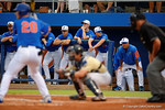 Florida Gators head coach Kevin O'Sullivan as the No. 1 overall seed Florida Gators conclude their opening sweep of the Gainesville Regional by beating Georgia Tech 10-1 in the final at McKethan Stadium.  June 5th, 2016. Gator Country photo by David Bowie.