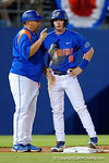 Florida Gators second baseman Deacon Liput sliding into third base as the No. 1 overall seed Florida Gators conclude their opening sweep of the Gainesville Regional by beating Georgia Tech 10-1 in the final at McKethan Stadium.  June 5th, 2016. Gator Country photo by David Bowie.