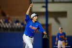 Florida Gators pitcher Alex Faedo calls out a fly ball, as the No. 1 overall seed Florida Gators conclude their opening sweep of the Gainesville Regional by beating Georgia Tech 10-1 in the final at McKethan Stadium.  June 5th, 2016. Gator Country photo by David Bowie.