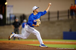 Florida Gators pitcher Scott Moss comes into the game in relief, as the No. 1 overall seed Florida Gators conclude their opening sweep of the Gainesville Regional by beating Georgia Tech 10-1 in the final at McKethan Stadium.  June 5th, 2016. Gator Country photo by David Bowie.