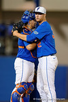 Photos from the sideline as the #1 seeded University of Florida Gators even up their Super Regional 1-1 with a 5-0 win over the Florida State Seminoles at McKethan Stadium.  June 12th, 2016. Gator Country photo by David Bowie.