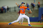 Florida Gators pitcher Jackson Kowar as the #1 ranked Gators chomp the #11 Florida State Seminoles 6-0 at McKethan Stadium. March 15th, 2015. Gator Country photo by David Bowie.