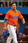 Florida Gators infielder Nelson Maldonado celebrates after hitting a home run to put the Gators up 1-0, as the #1 ranked Gators chomp the #11 Florida State Seminoles 6-0 at McKethan Stadium. March 15th, 2015. Gator Country photo by David Bowie.