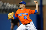 Florida Gators pitcher Kirby Snead takes the mound in relief as the #1 ranked Gators chomp the #11 Florida State Seminoles 6-0 at McKethan Stadium. March 15th, 2015. Gator Country photo by David Bowie.