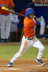 Florida Gators shortstop Dalton Guthrie at the plate as the #1 ranked Gators chomp the #11 Florida State Seminoles 6-0 at McKethan Stadium. March 15th, 2015. Gator Country photo by David Bowie.