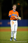 Florida Gators second baseman Deacon Liput is all smiles as the #1 ranked Gators chomp the #11 Florida State Seminoles 6-0 at McKethan Stadium. March 15th, 2015. Gator Country photo by David Bowie.