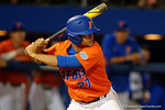 Florida Gators infielder Nelson Maldonado as the #1 ranked Gators chomp the #11 Florida State Seminoles 6-0 at McKethan Stadium. March 15th, 2015. Gator Country photo by David Bowie.