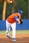 Florida Gators pitcher Dane Dunning takes the mound as the starter as the #1 ranked Gators chomp the #11 Florida State Seminoles 6-0 at McKethan Stadium. March 15th, 2015. Gator Country photo by David Bowie.
