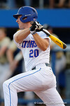Florida Gators first baseman Peter Alonso in a 4-2 win over the #7 Vanderbilt Commodores at McKethan Stadium. May 13th, 2016. Gator Country photo by David Bowie.