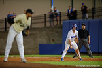 Florida Gators first baseman Peter Alonso leads off first base, in a 4-2 win over the #7 Vanderbilt Commodores at McKethan Stadium. May 13th, 2016. Gator Country photo by David Bowie.
