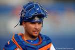 Florida Gators catcher Mike Rivera in a 4-2 win over the #7 Vanderbilt Commodores at McKethan Stadium. May 13th, 2016. Gator Country photo by David Bowie.