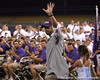 Former LSU second baseman Todd Walker is honored during the College World Series Opening Ceremonies on Friday, June 18, 2010 at Rosenblatt Stadium in Omaha, Neb. / photo by Tim Casey