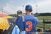 Florida freshman catcher Mike Zunino shoots a video during the Gators' pre-College World Series practice on Friday, June 18, 2010 at Rosenblatt Stadium in Omaha, Neb. / photo by Tim Casey