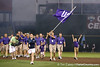 TCU enters the stadium during the College World Series Opening Ceremonies on Friday, June 18, 2010 at Rosenblatt Stadium in Omaha, Neb. / photo by Tim Casey