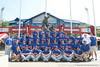 Florida players pose for a photo during the Gators' pre-College World Series practice on Friday, June 18, 2010 at Rosenblatt Stadium in Omaha, Neb. / photo by Tim Casey