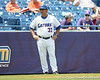Florida baseball assistant coach Craig Bell stands in the third-base coach's box during the Gators' 5-4 win against the Arkansas Razorbacks in the SEC Tournament on Thursday, May 27, 2010 at Regions Park in Hoover, Ala. / Gator Country photo by Tim Casey