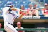 Florida senior Matt den Dekker checks his swing during the Gators' 5-4 win against the Arkansas Razorbacks in the SEC Tournament on Thursday, May 27, 2010 at Regions Park in Hoover, Ala. / Gator Country photo by Tim Casey