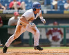 Florida freshman infielder Nolan Fontana runs out a single during the Gators' 5-4 win against the Arkansas Razorbacks in the SEC Tournament on Thursday, May 27, 2010 at Regions Park in Hoover, Ala. / Gator Country photo by Tim Casey