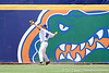 Florida sophomore outfielder Tyler Thompson throws the ball to the infield during the Gators' 5-4 win against the Arkansas Razorbacks in the SEC Tournament on Thursday, May 27, 2010 at Regions Park in Hoover, Ala. / Gator Country photo by Tim Casey