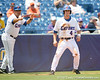 Florida freshman infielder Nolan Fontana reaches third base during the Gators' 5-4 win against the Arkansas Razorbacks in the SEC Tournament on Thursday, May 27, 2010 at Regions Park in Hoover, Ala. / Gator Country photo by Tim Casey