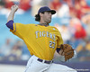 LSU junior pitcher Anthony Ranaudo winds up during the Gators' 10-6 loss to the Tigers in the SEC Tournament on Wednesday, May 26, 2010 at Regions Park in Hoover, Ala. / Gator Country photo by Tim Casey