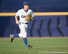 Florida freshman shortstop Nolan Fontana walks the ball to the infield during the Gators' 10-6 loss to the LSU Tigers in the SEC Tournament on Wednesday, May 26, 2010 at Regions Park in Hoover, Ala. / Gator Country photo by Tim Casey