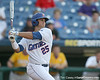 Florida sophomore Preston Tucker follows through on a swing during the Gators' 10-6 loss to the LSU Tigers in the SEC Tournament on Wednesday, May 26, 2010 at Regions Park in Hoover, Ala. / Gator Country photo by Tim Casey