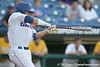 Florida sophomore Preston Tucker swings at a pitch during the Gators' 10-6 loss to the LSU Tigers in the SEC Tournament on Wednesday, May 26, 2010 at Regions Park in Hoover, Ala. / Gator Country photo by Tim Casey