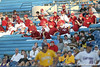 Arkansas' players wait for their game during the Gators' 10-6 loss to the LSU Tigers in the SEC Tournament on Wednesday, May 26, 2010 at Regions Park in Hoover, Ala. / Gator Country photo by Tim Casey
