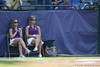 LSU bat girls watch during the Gators' 10-6 loss to the LSU Tigers in the SEC Tournament on Wednesday, May 26, 2010 at Regions Park in Hoover, Ala. / Gator Country photo by Tim Casey