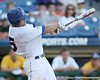 Florida sophomore catcher Ben McMahan fouls off a pitch during the Gators' 10-6 loss to the LSU Tigers in the SEC Tournament on Wednesday, May 26, 2010 at Regions Park in Hoover, Ala. / Gator Country photo by Tim Casey