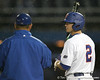 during the Gators' game against the UCF Knights on Wednesday, February 24, 2010 at McKethan Stadium in Gainesville, Fla. / Gator Country photo by Tim Casey
