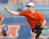 Florida sophomore Anthony DeSclafani works out during the Gators' first day of practice on Friday, January 29, 2010 at McKethan Stadium in Gainesville, Fla. / Gator Country photo by Tim Casey