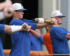 Florida freshman infielder Cody Dent warms up during the Gators' first day of practice on Friday, January 29, 2010 at McKethan Stadium in Gainesville, Fla. / Gator Country photo by Tim Casey