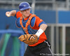 Florida senior catcher Hampton Tignor works out during the Gators' first day of practice on Friday, January 29, 2010 at McKethan Stadium in Gainesville, Fla. / Gator Country photo by Tim Casey