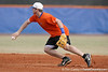 Florida junior Josh Adams flips the ball to second base during the Gators' first day of practice on Friday, January 29, 2010 at McKethan Stadium in Gainesville, Fla. / Gator Country photo by Tim Casey